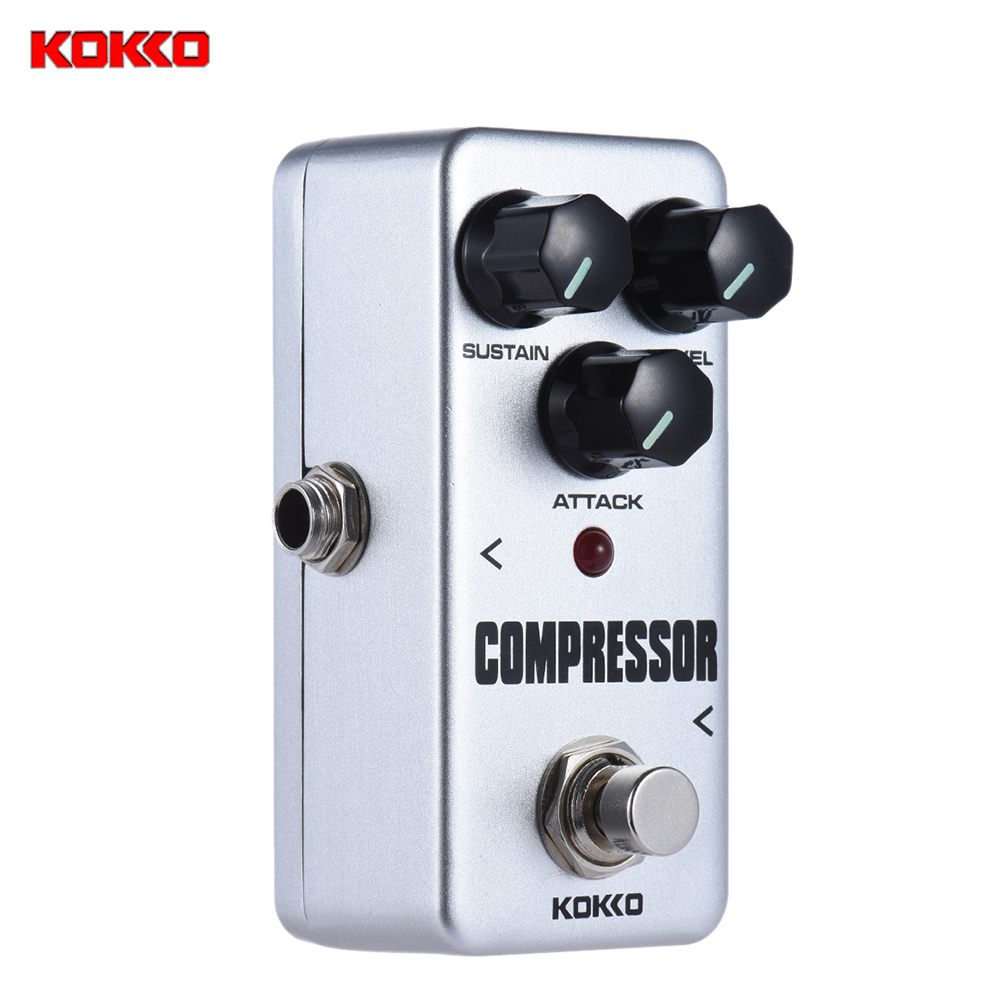 buy kokko fcp2 mini compressor pedal portable guitar effect pedal high quality. Black Bedroom Furniture Sets. Home Design Ideas
