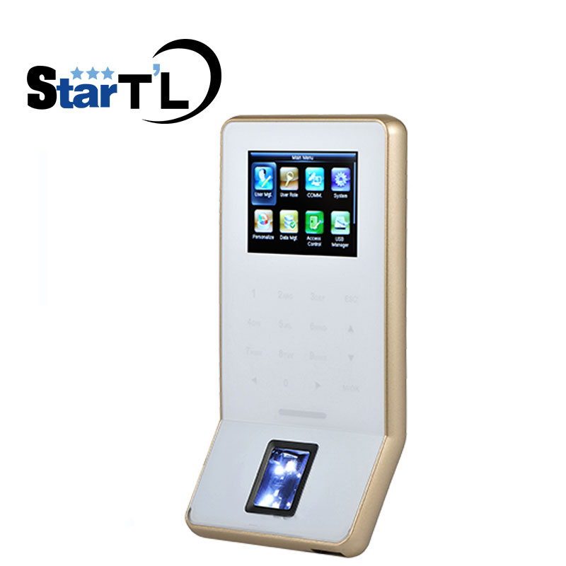 Free Shipping Touch keys WiFi Biometric fingerprint Door Access Control TCP/IP wiegand ZK F22 fingerprint Door Access Controller free shipping zk linux system tcp ip touch screen fingerprint finger vein and smart card access controller door access control