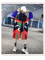 Korean and Japanese Fashion Women's Tribal Geometric Tunic Blouses Stylish Nice oho shirt dress s02