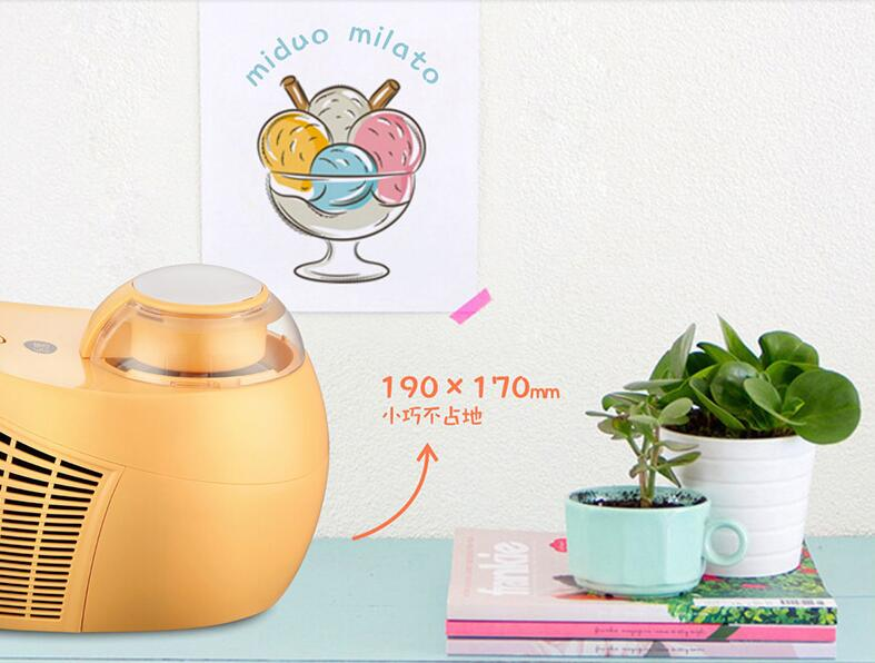 Fully Automatic Home Ice Cream Maker of 0.5L Capacity with 3D Mixer and Intelligent Cooling Core to Prepare Delicious Ice Cream and Dessert 1