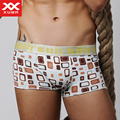 XUBA Male panties viscose check sexy fashion personality u low-waist breathable temptation panties