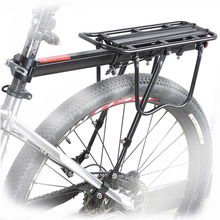 Bike rack 50kg capaciblity Bicycle Quick Release Luggage cargo Seat Post Pannier Carrier Rear Rack Fender bicycle accessories