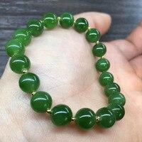 แฟชั่น8มิลลิเมตรธรรมชาติสีเขียวหยกแจส