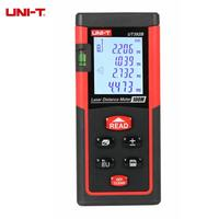UNI T UT392B 100M Laser Distance Meter Handheld Digital Range Finder Auto Calibration Area Volume Calculation