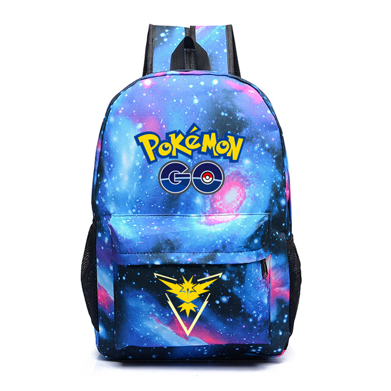 911babb75a 2016 hot game Pokemon go Backpack Pocket Monsters student school backpacks  daily bag AB382