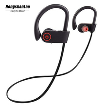 Wireless Bluetooth Earphone Waterproof headphones sport Music Earbuds With Charging Compartment Noise Cancelling Gaming Headset
