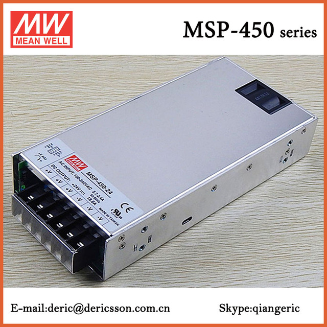 MEAN WELL 450W SMPS 24V Switching Power Supply with UL cUL CB CE ...