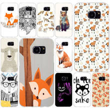 260AQ Oh For Fox Sake Soft TPU Silicone Cover Case for samsung Galaxy s6 s6 s7 edge s8 s9 plus case(China)