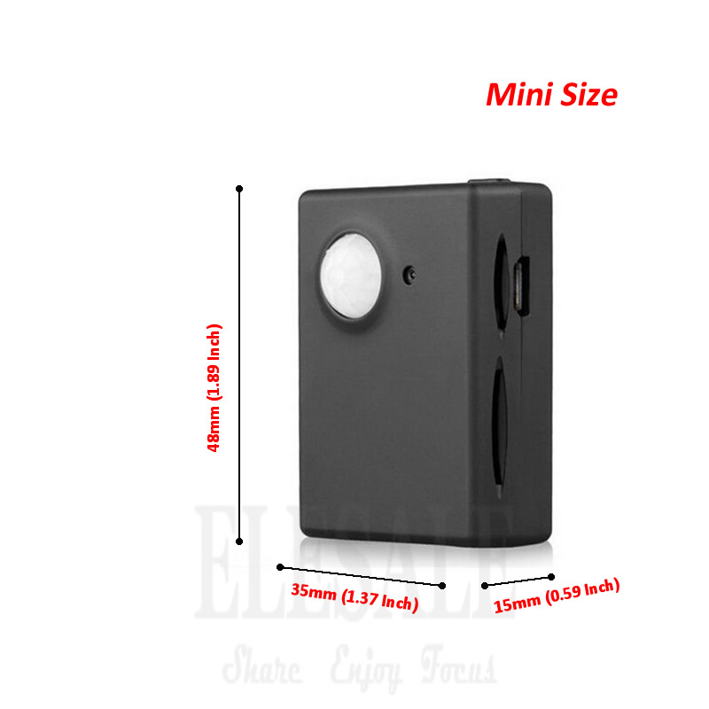 New Mini Wireless Gsm PIR Alarm System Infrared Motion Detection Anti-Theft Alarm Built-in Camera DV Send MMS Automatically