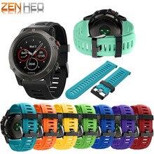 นาฬิกาสำหรับGarmin Fenix 3สายซิลิโคนนาฬิกาข้อมือนาฬิกาสำหรับนาฬิกาGarmin Fenix 5X/5X Plus/3HR