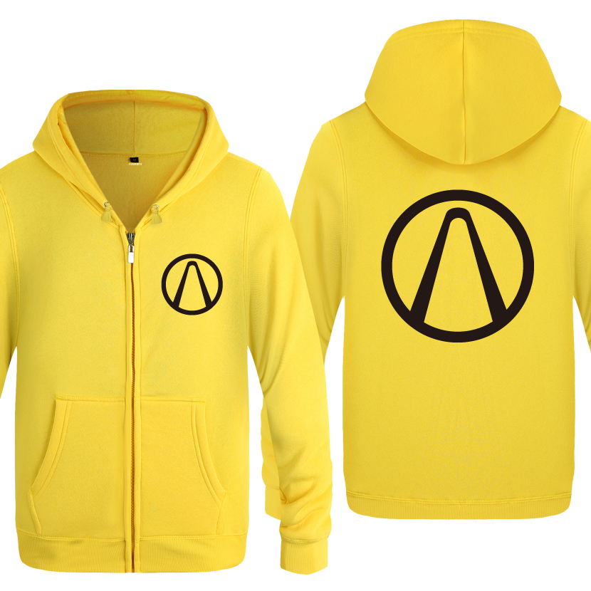 Borderlands Game Hoodies Men 2018 Men's Fleece Zipper Cardigans Hooded Sweatshirts image
