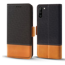 for Samsung Note 10 Plus Case Vantage PU Leather Flip Stand Wallet Shockproof Cover for Samsung Galaxy Note 10 Case Card Slots недорго, оригинальная цена