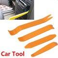 Painel Da Porta Rádio Do Carro Auto Painel Clipe Guarnição Traço Remoção Áudio Installer Pry Repair Tool set 4 pcs Portátil Prático