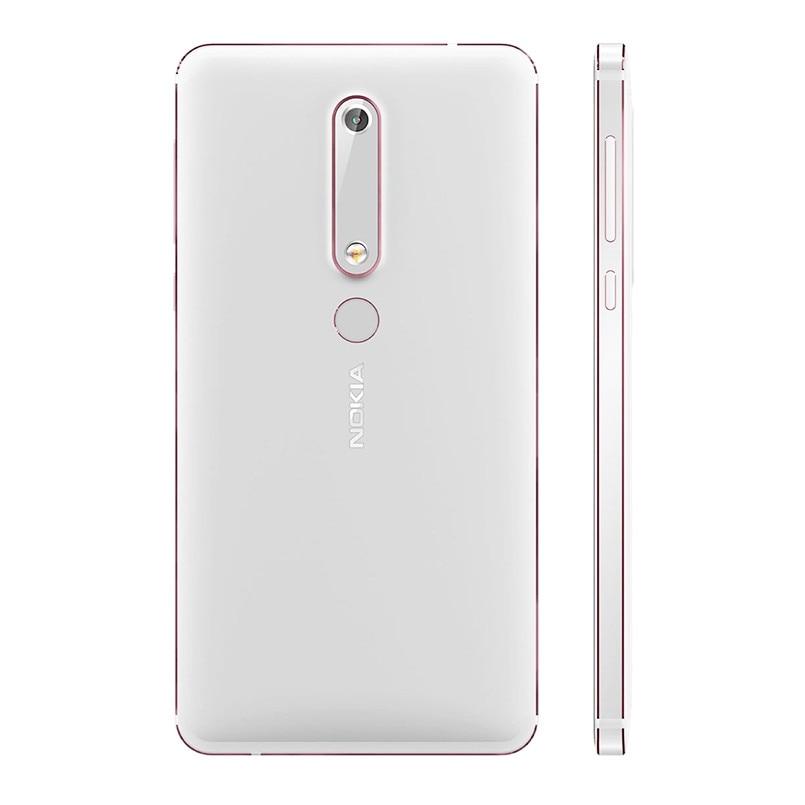 Nokia 6 2nd 5,5 Snapdragon 630 Octa Core 4G LTE Handy 4GB RAM 32 GB/ 64GB ROM 16MP 8MP Dual Kamera Android Handy - 6