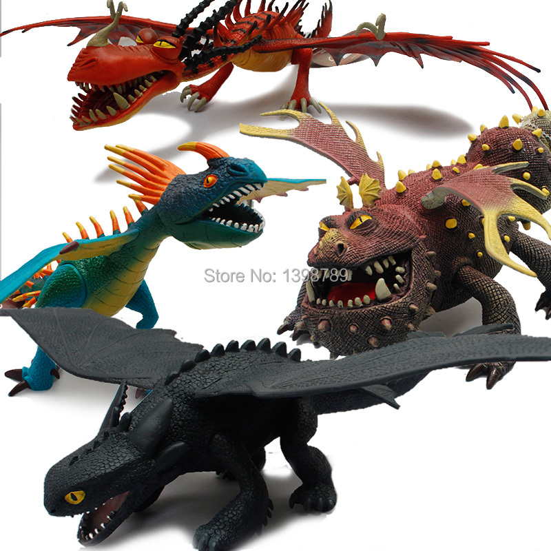 pictures of how to train your dragon toys