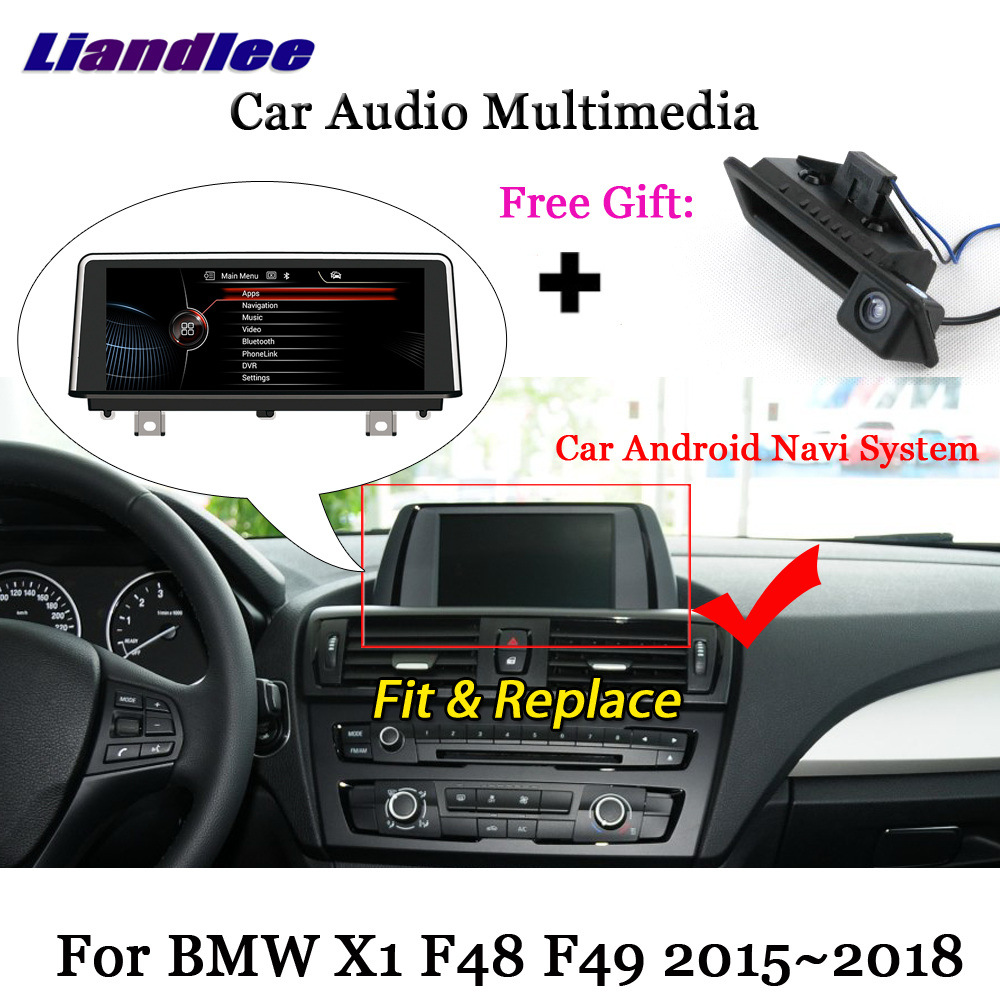 Liandlee Android 7.1 For BMW X1 F48 F49 2015~2018 Stereo Radio Video Wifi TV Carplay Camera GPS Map Navi Navigation Multimedia liandlee android for volvo xc60 xc 60 2008 2017 stereo radio carplay parking camera tv wifi aux gps navi navigation multimedia