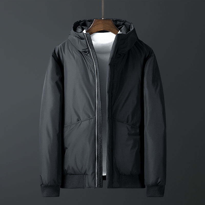 2019 Men Winter Down Jacket Warm 70% White Duck Down Male Winter Coats Fashion ThickenMen Parkas Casual Men Brand Men Clothing