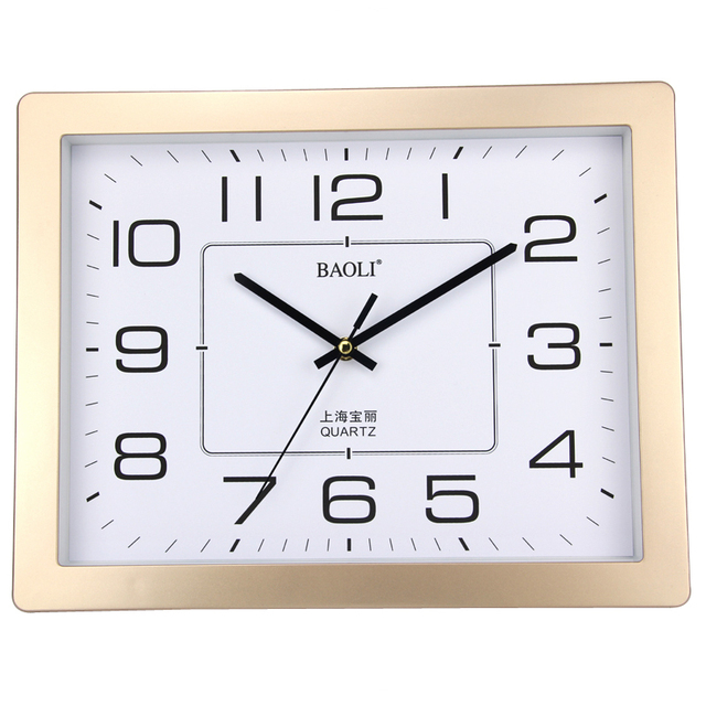 Polaroid Silent Living Room Wall Clock Simple Fashion Watches Modern Creative Office Atmosphere IKEA Style