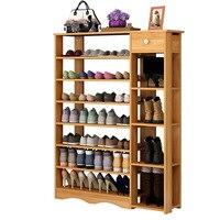30 простой бытовой многослойный обувной стеллаж для хранения обуви шкаф экономичный хранение стойка универсальная пыль обувная стойка