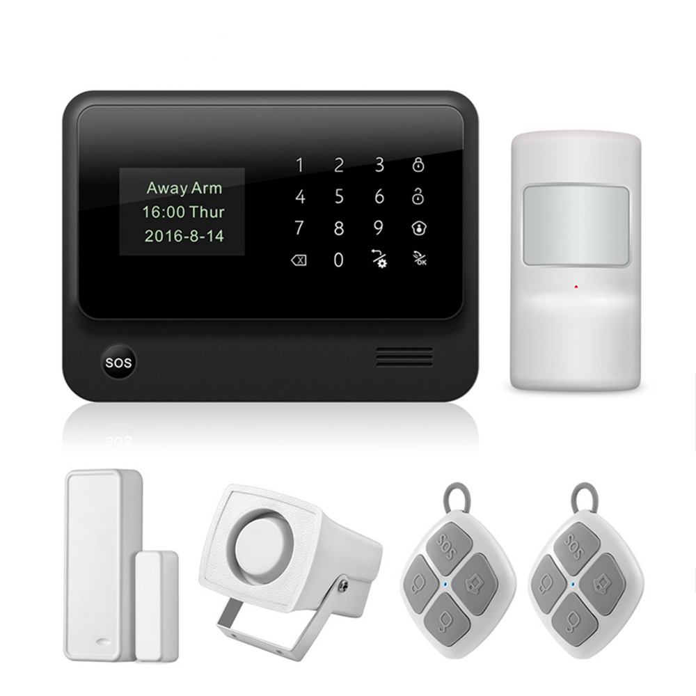 Fuers G90B WIFI GSM 2G GPRS Alarm System Touch Keyboard Wireless Smart House Security System APP