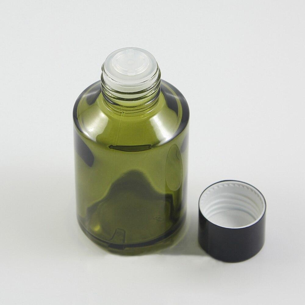 atacado 50 pcs 60 ml verde rodada frasco conta gotas com tampa de rosca 2 onca