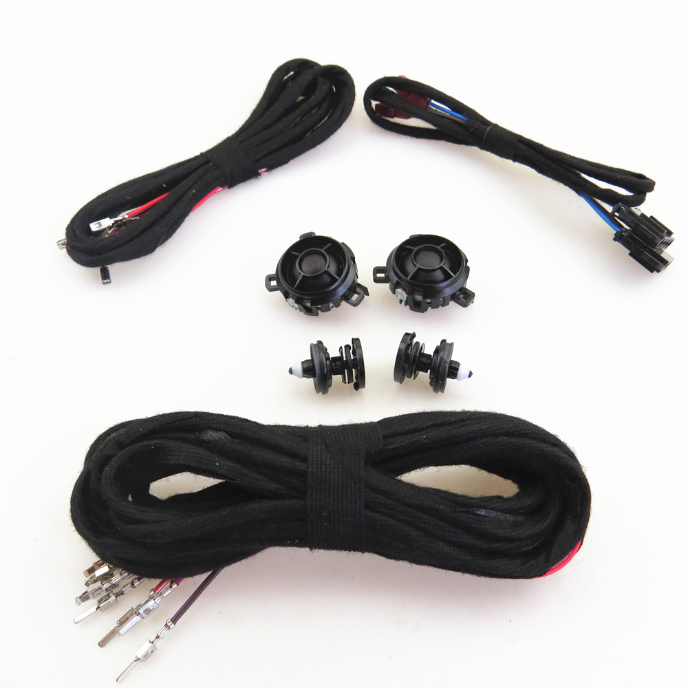 ZUCZUG Rear Door Tweeter Buzzer Loudspeakers + Clip