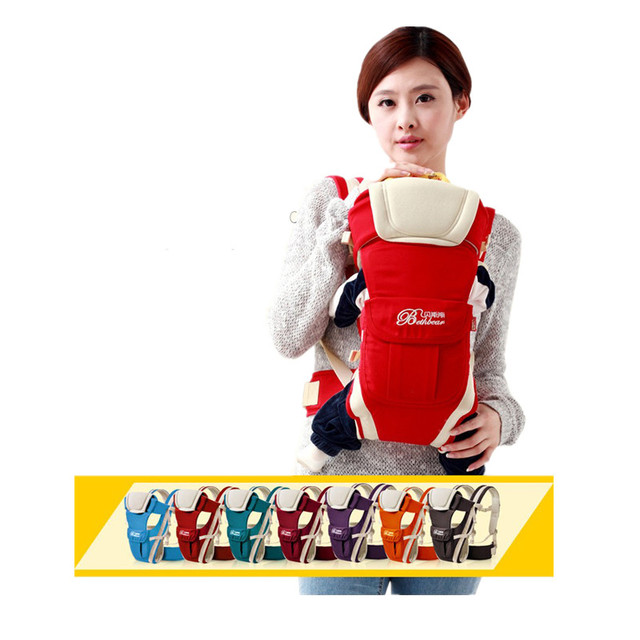 Baby Wrap Sling Fashion Summer Style Ergonomic Backpack Cotton Solid Shoulders Sling Backpacks Carriers For Baby Wrap Sling