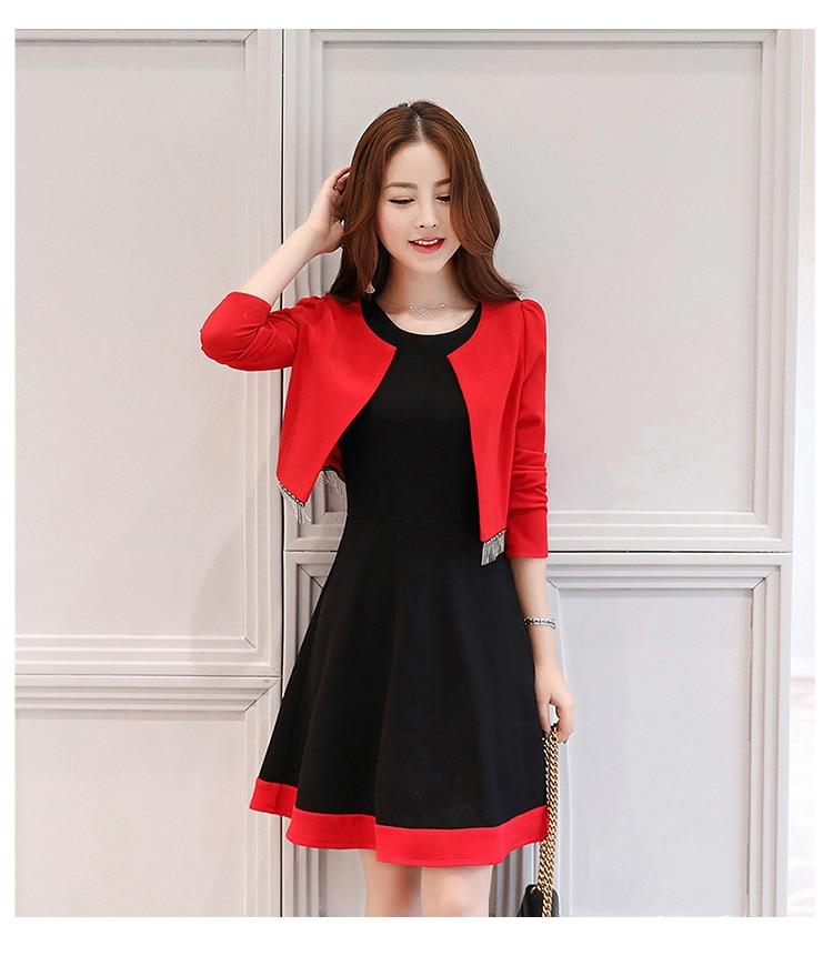 YAUAMDB Women Dress Suits 2018 Spring Autumn S-XL Female Blazer ... da5c7a292eaa