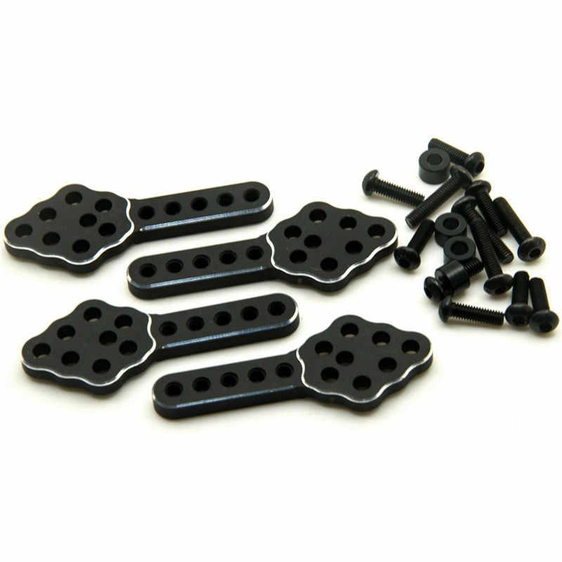 Kit de elevación de montaje en Choque de aleación SCX10 Axial para piezas de coche modelo RC 1/10 SCX10 CC01 F350 D90 # D