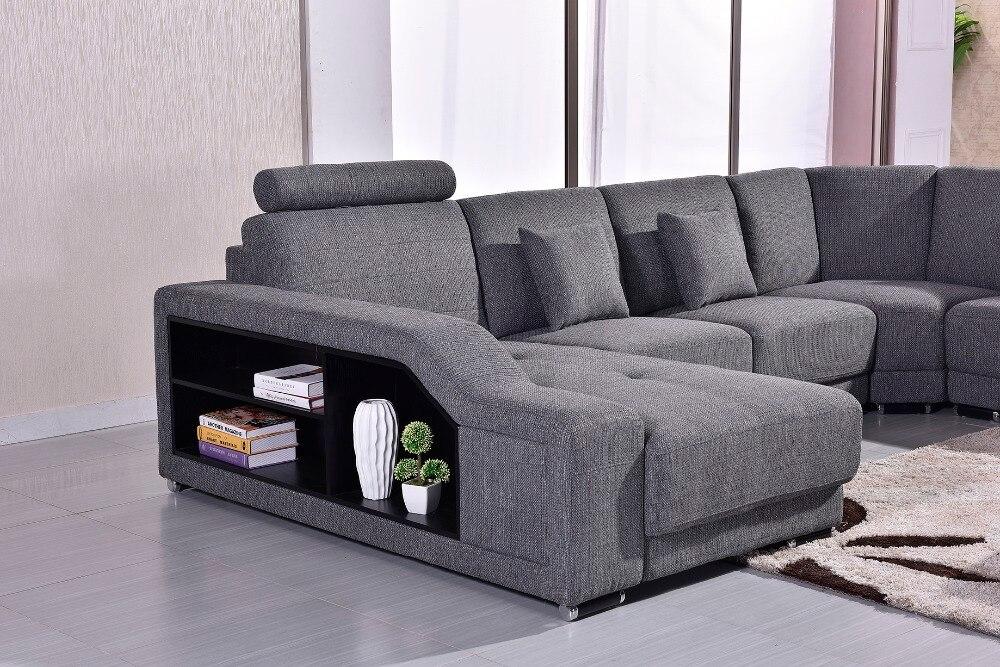 2018 Canapés Pour Salon Chaise Promotion Nouveau Tissu Moderne