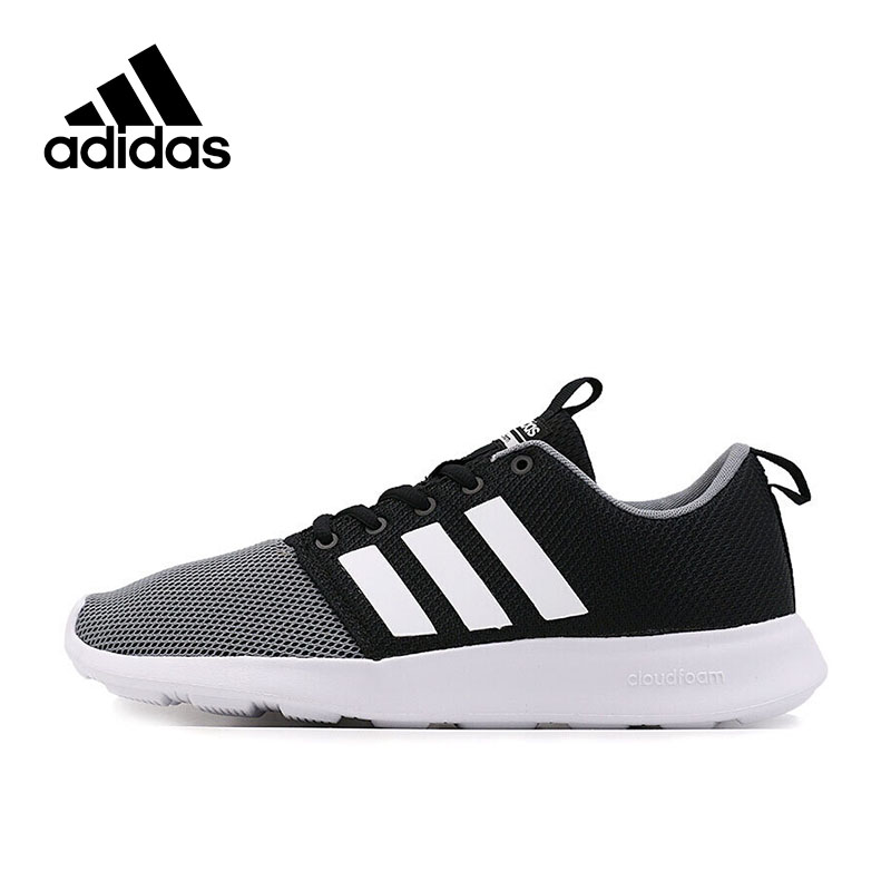 Adidas Authentic New Arrival 2017 NEO Label SWIFT RACER Men's Skateboarding Shoes Sneakers AW4154 AW4158 AW4159 adidas original new arrival official neo women s knitted pants breathable elatstic waist sportswear bs4904