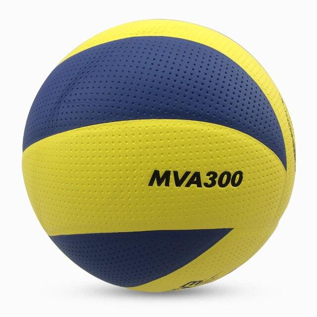 Nuevo tamaño de la marca 5 PU suave táctil voleibol partido oficial MVA300 balls bolas, bolas de voleibol de entrenamiento de alta calidad para interiores