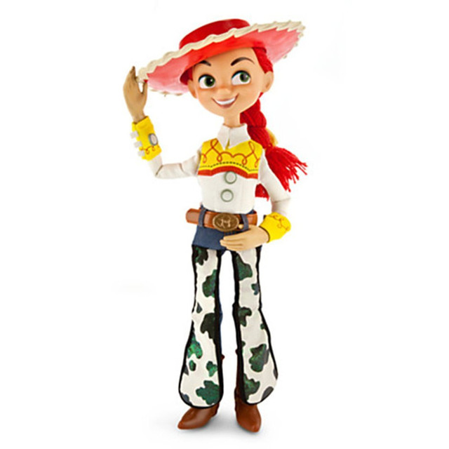 59379a3acd110 15 inch Toy Story 3 Jessie Pull String Doll Action Figure with Voices Speak  Pixar Toy Story PVC Toy Figure