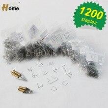 straight melt knife, curved melt knife,hot stapler ironing tool,hot stapler replacement staples 1200pk(HS-014X)
