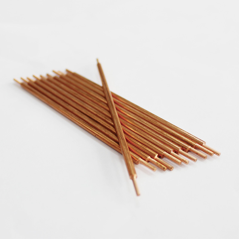 Pontas de solda a ponto-solda eletrodo guia bateria soldador alumina de solda de cobre vermelho cabeça agulha de solda máquina de pulso