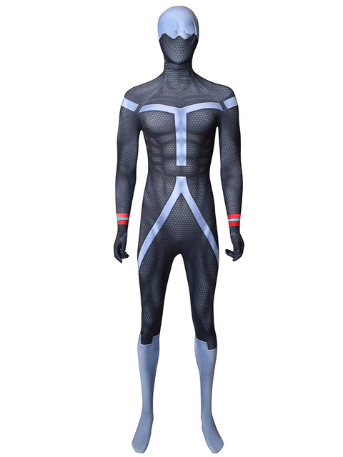 Twice Jin Bubaigawara MY Hero Cosplay Costume Spandex Zentai Bodysuit Jumpsuit for Adult/Kids Custom Made
