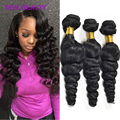 Brazilian Virgin Hair Loose Wave 3PCS 7A Unprocessed Brazilian Loose Wave Brazilian Human Hair Bundles Loose Curly Virgin Hair