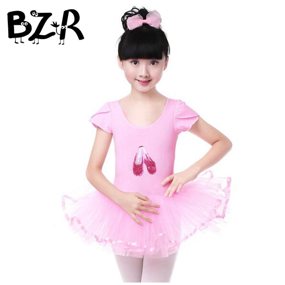 Bazzery 2018 Cute Girls Ballet Dress For Children Girl Dance Clothing Kids Ballet Costumes Girls Dance Leotard Girl Dancewear