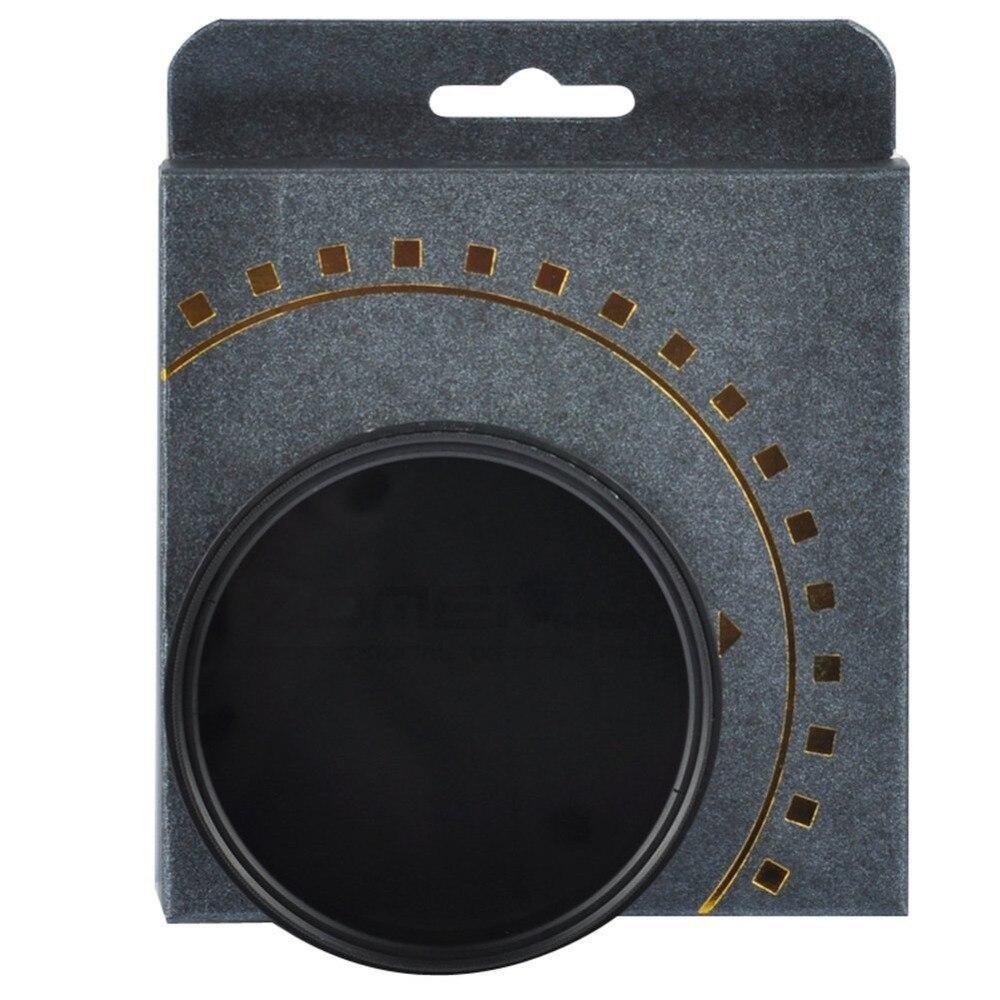 ZOMEi 77mm Ultra Mince ND2-ND400 Fader Densité Neutre Variable Réglable Lentille Filtre Ultra Mince ND Filtre Optique En Verre