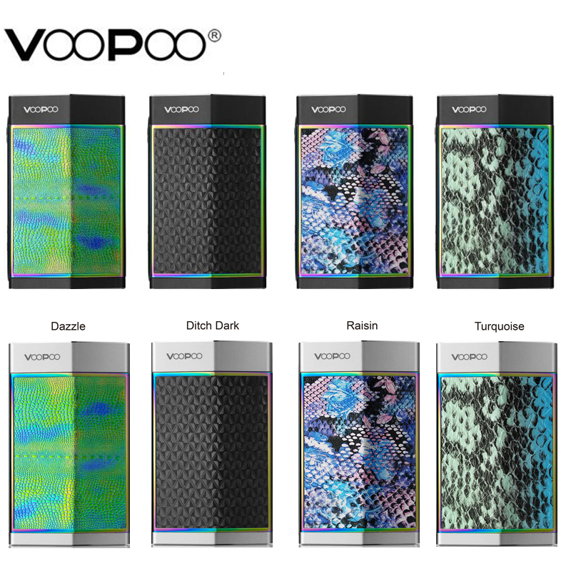 Original VOOPOO TOO Mod Box Vape 80W/180W Black/Silver Frame Support RDA/RTA/RDTA Tank E Cigarettes Vaporizer Mod Fit 18650