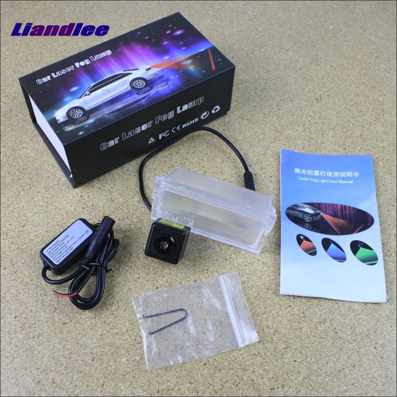 Liandlee For Land Rover Range Rover Sport 2005~2012 Car Decoration Fog Lamps Anti Warning Lights Outside Prevent Mist Haze дефлекторы окон novline темный для land rover range rover 2002 2012 комплект 4шт nld slrrr0232