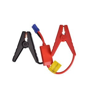 Image 1 - 1PCS 10PCS New Emergency Lead Cable Battery Alligator Clamp Clip For Car Trucks Jump Starter Clamps