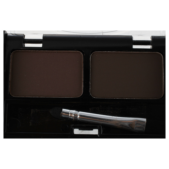 Eyebrow Stencils & Multi Color For Waterproof Eyebrow Shaping Powder Eyeshadow - coffee and brown 4