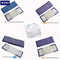 NTNT 6pcs Lot Replacement Washable Wet Damp Dry Sweeping Pads Mopping Pads For IRobot Braava Jet