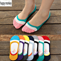 2016 10 pieces=5 pairs new spring and summer silicone invisible anti-skid socks women socks female  summer invisible ankle socks