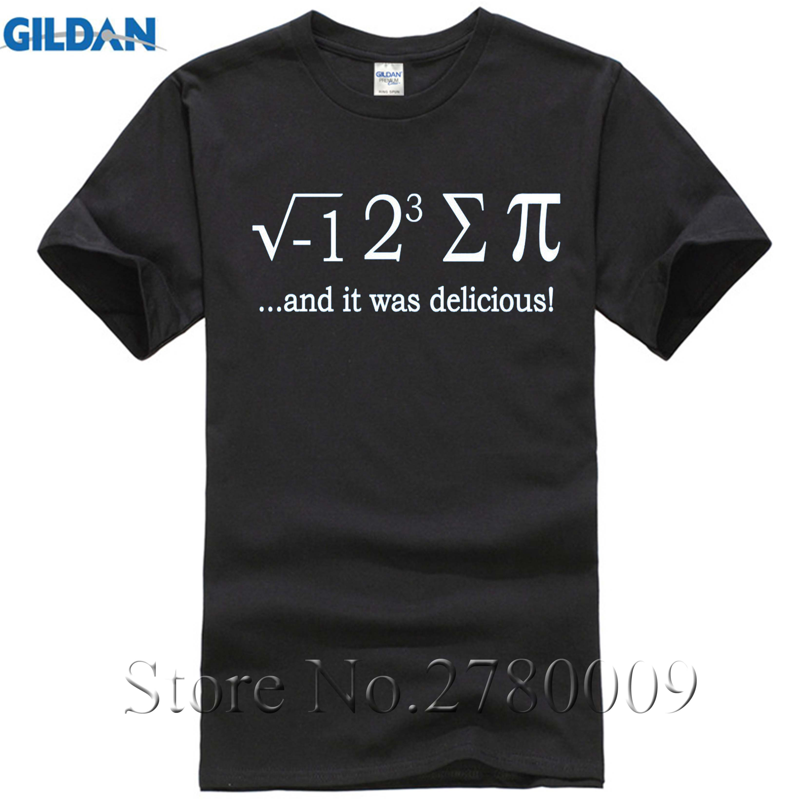 I 8 Sum Pi Funny Math T Shirt Cute Pi Day School College Teacher Tee T-shirt Hipster Cool O Neck Tops Personality