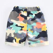 2017 Summer Style Baby Boys Shorts Cotton Children Clothing Camouflage Sports Pants For Boys Fashion Casual Kids Shorts Trousers