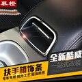 2 Pc para Dodge Journey 2013 interruptor caixa de anel decorativo Corrimão de aço inoxidável
