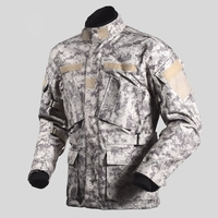 Free shipping 1pcs Men Winter Waterproof Warm Off road Racing Camouflage Touring Hunting jacket Motorcycle Jacket With 5pcs pads
