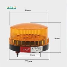 лучшая цена Waterproof Mini Light Safety Alarm Strobe Light Alarm Signal Flashlight Optional Red, Yellow, Blue, Green